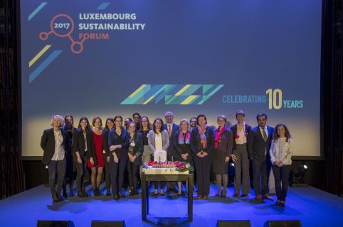 Luxembourg Sustainability Forum 2017 marks spirits for 10 years of IMS