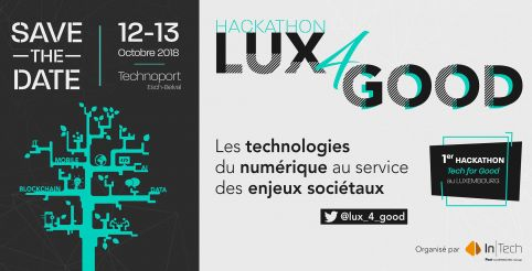Hackathon Lux4Good on October 12 and 13