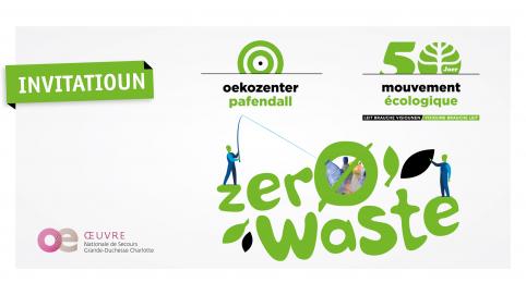 Oekozenter et le Mouvement Ecologique vous invitent à leur évènement