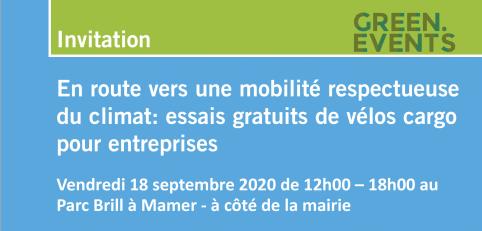 En route vers une mobilité respectueuse du climat: essais gratuits de vélos cargo pour entreprises