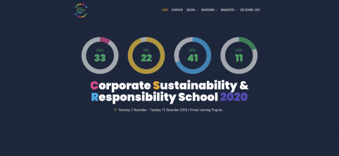 Corporate Sustainability & Responsibility School 2020