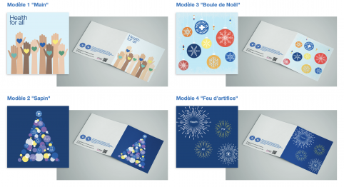 Personnalized greetings cards to support Médecins du Monde Luxembourg
