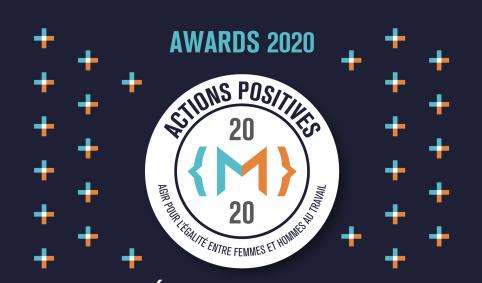 « Actions Positives » : la cérémonie de remise de l'award aura lieu le 9 décembre