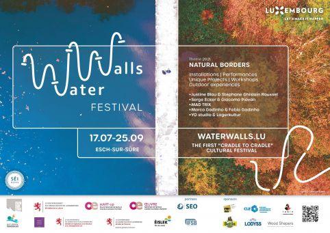 WaterWalls, premier festival culturel basé sur les principes du « cradle to cradle »
