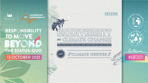 Climate and biodiversity: shaping up new ways for converging solutions