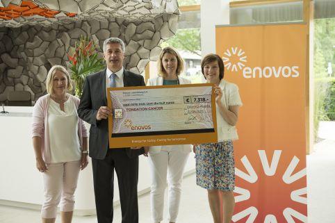 Enovos soutient la lutte contre le cancer
