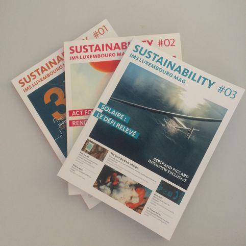L'édition 3 de Sustainability est là ! Le magazine des membres IMS