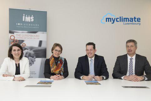 IMS pérennise son engagement aux côtés de myclimate Luxembourg