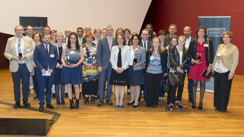 Organisations were awarded for their diversity management practices