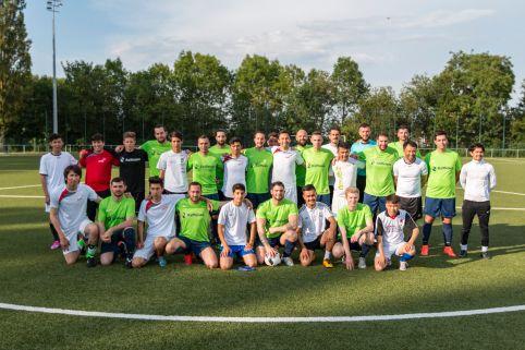 Match de foot caritatif entre Raiffeisen et la Croix-Rouge