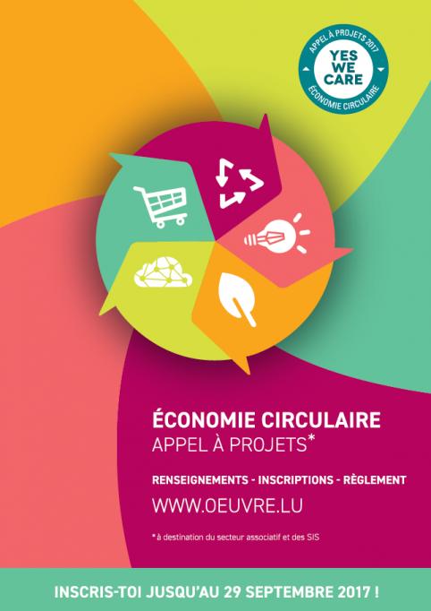 YES WE CARE 2017 : stimuler la créativité et la transition vers l'économie circulaire