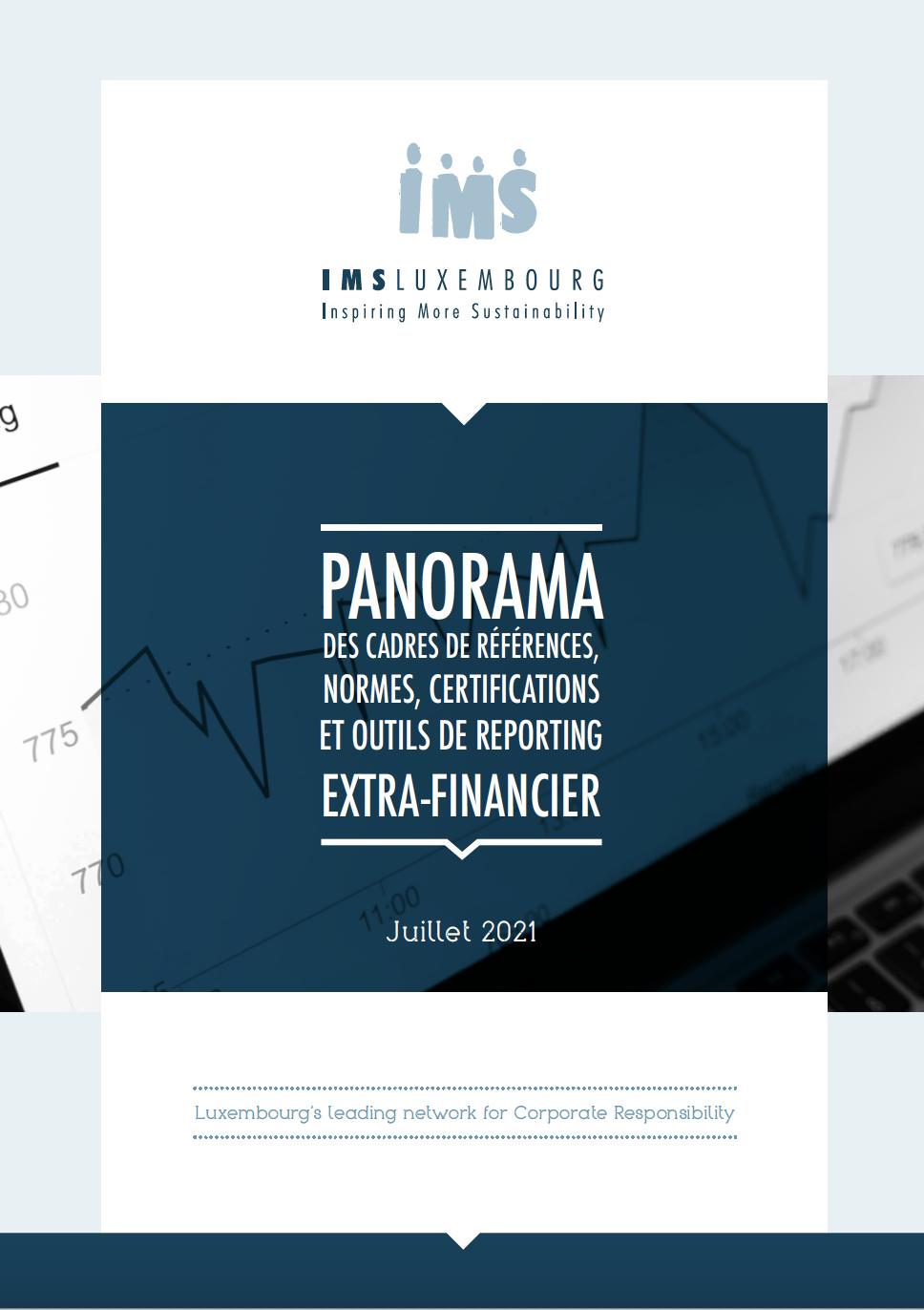 Panorama des cadres de références, normes, certifications et outils de reporting extra-financier