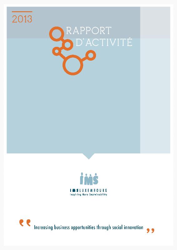 Rapport d'activités IMS Luxembourg 2013