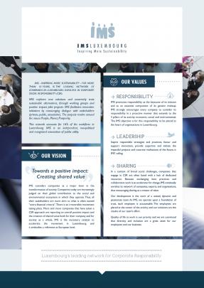 Brochure de présentation IMS Luxembourg