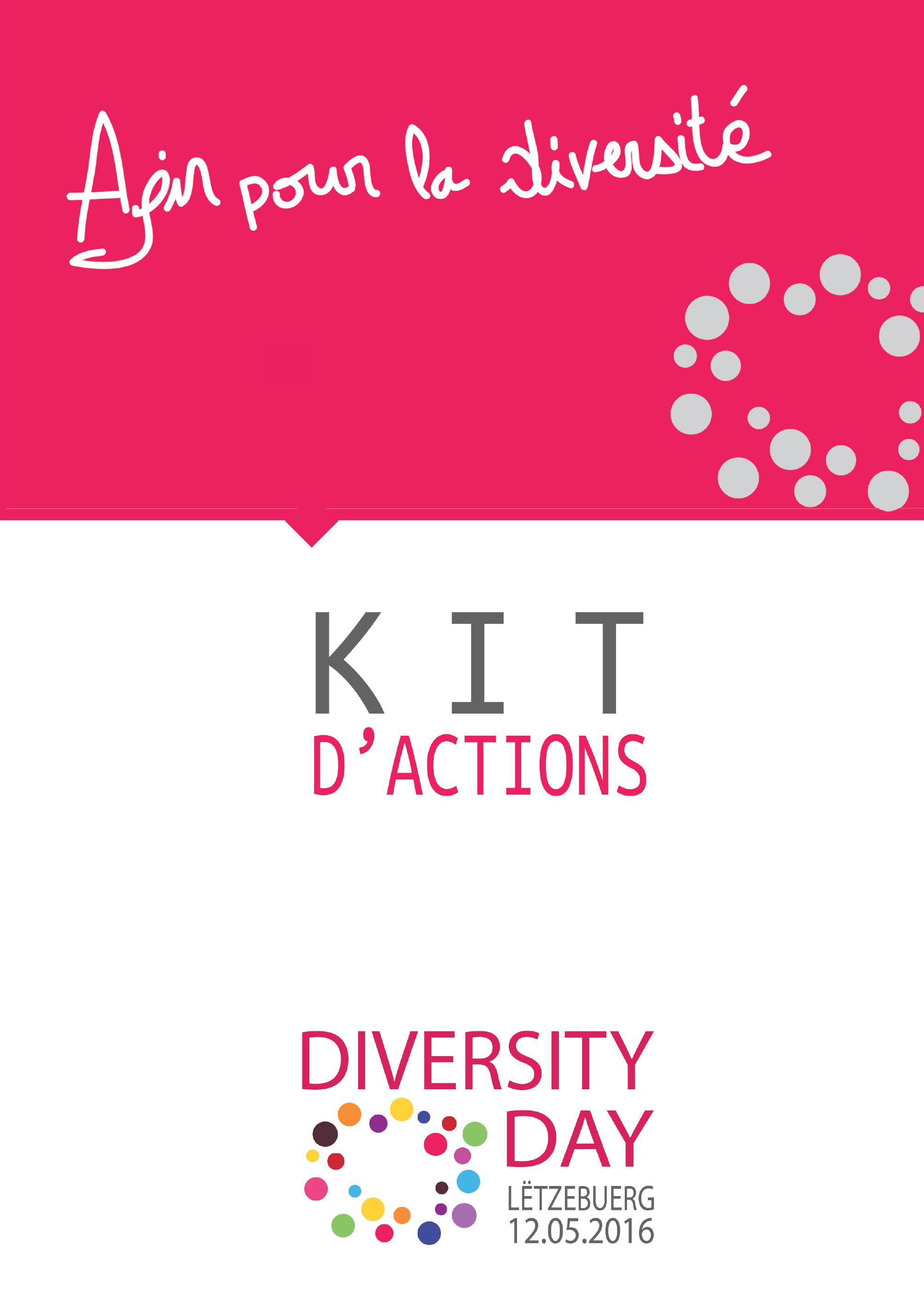 Kit d'actions pour le Diversity Day 2016