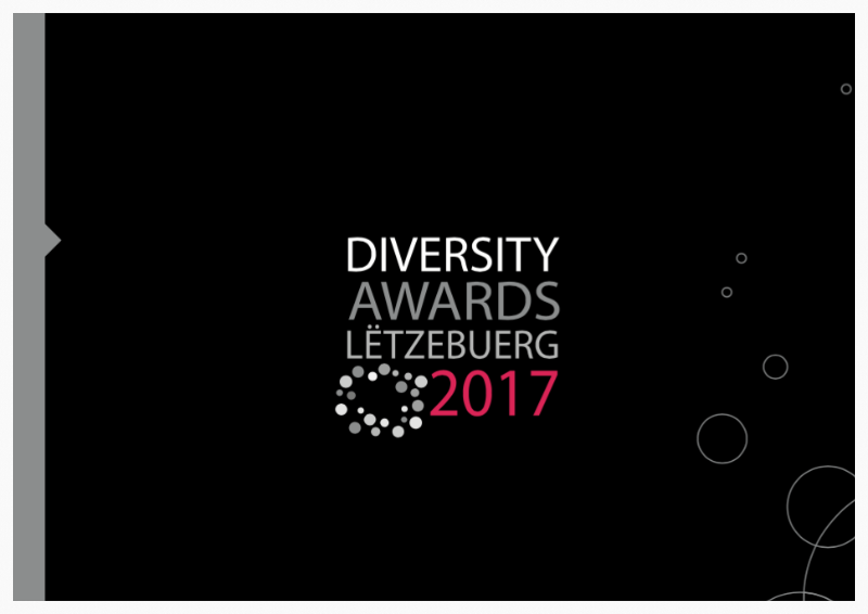 Brochure of the Diversity Awards Lëtzebuerg 2017