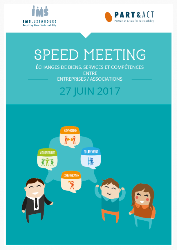 Booklet june 2017 Speed Meeting :