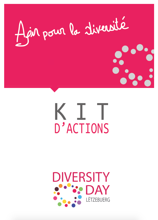 Kit d'actions pour le Diversity Day Lëtzebuerg 2018