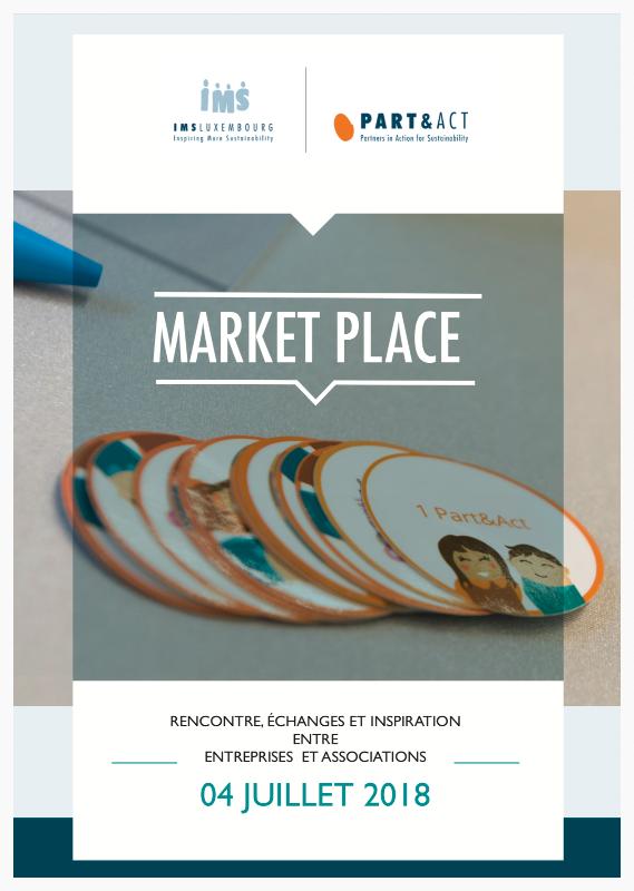 Booklet Market Place, juillet 2018