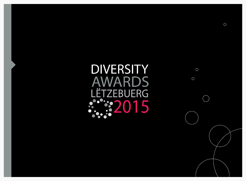 Brochure of the Diversity Awards Lëtzebuerg 2015