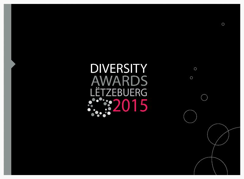 Brochure de présentation des Diversity Awards Lëtzebuerg 2015