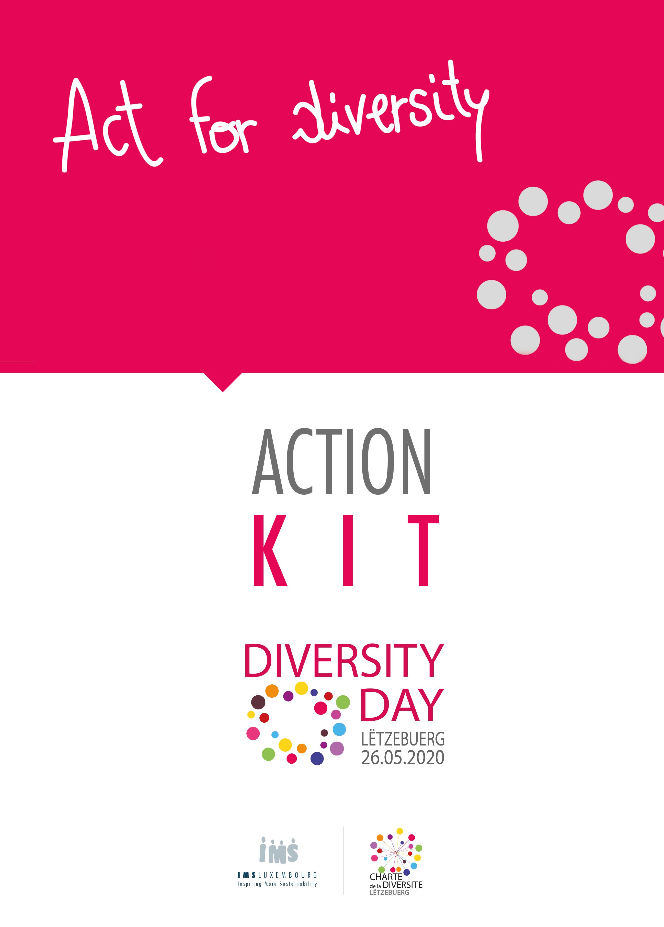 Kit d'actions pour le Diversity Day Lëtzebuerg 2020