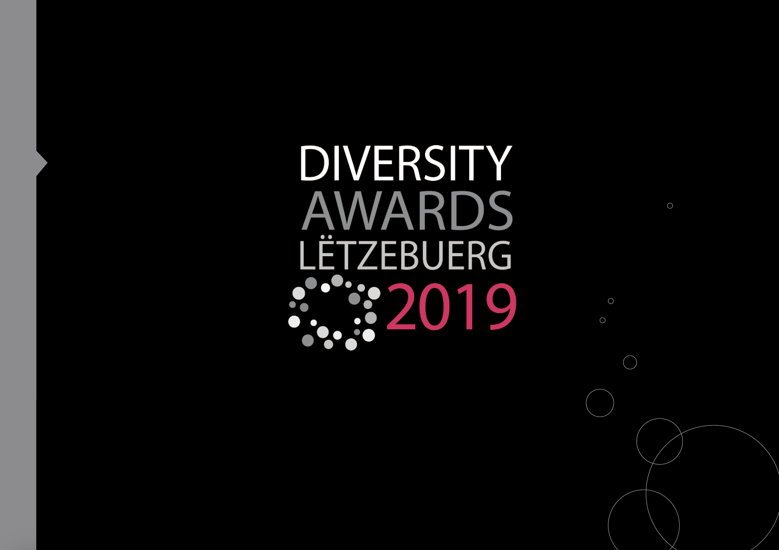 Brochure de présentation des Diversity Awards Lëtzebuerg 2019