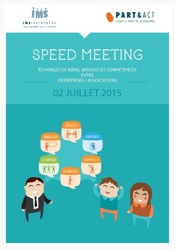 Booklet 2015 Speed Meeting :