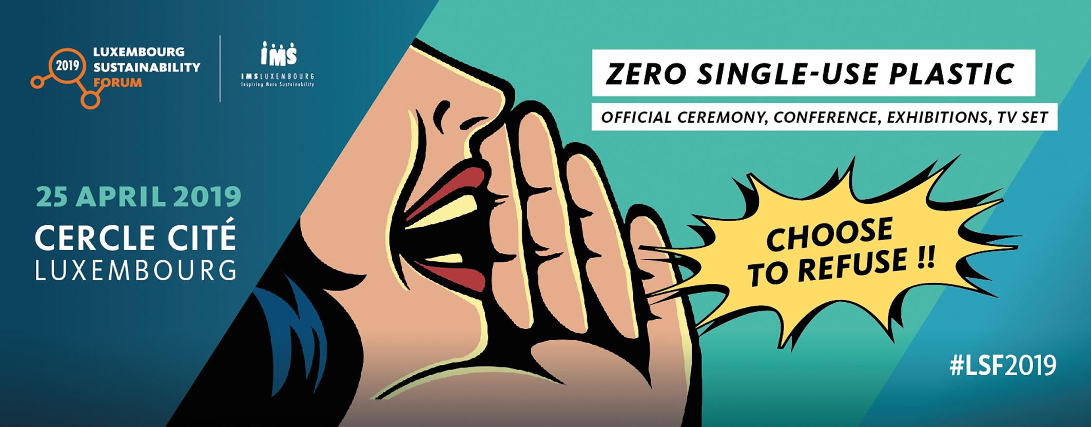 ZERO SINGLE-USE PLASTIC - IMS Luxembourg